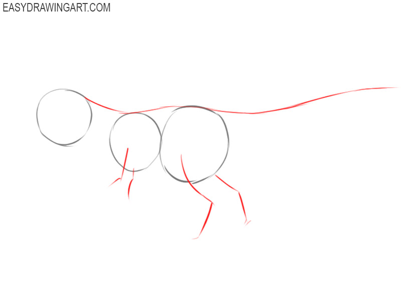 how to draw a tyrannosaurus rex from jurassic world