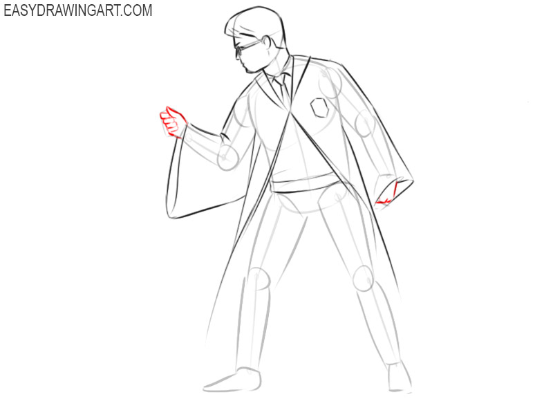 How to draw Harry Potter easy step by step