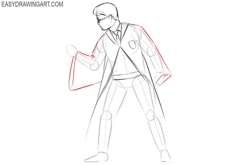 How to draw Harry Potter from the movie