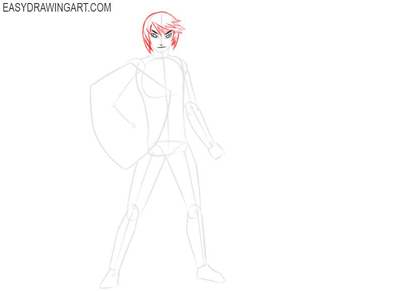how to draw link zelda