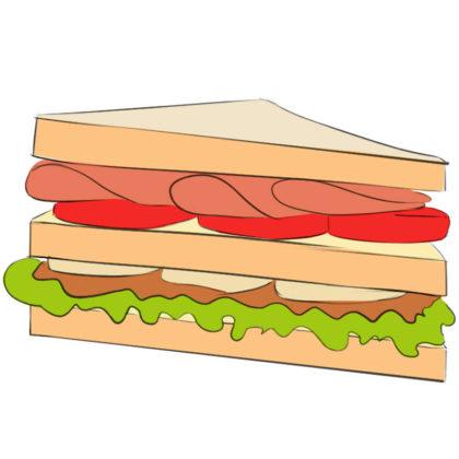 How to draw a sandwich