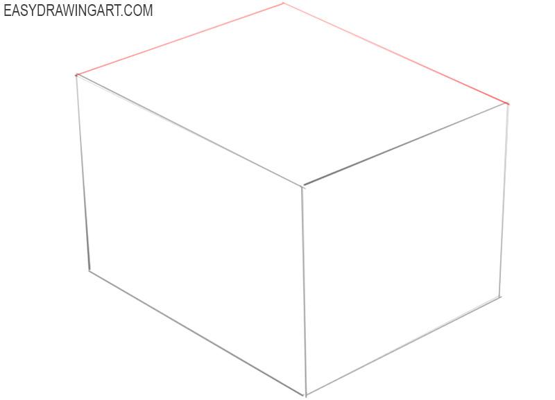 a box drawing