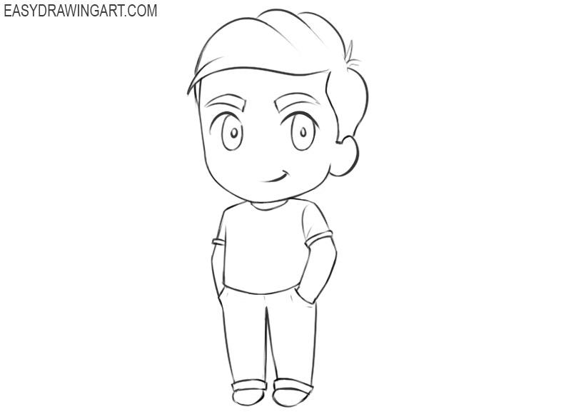 chibi drawings cute