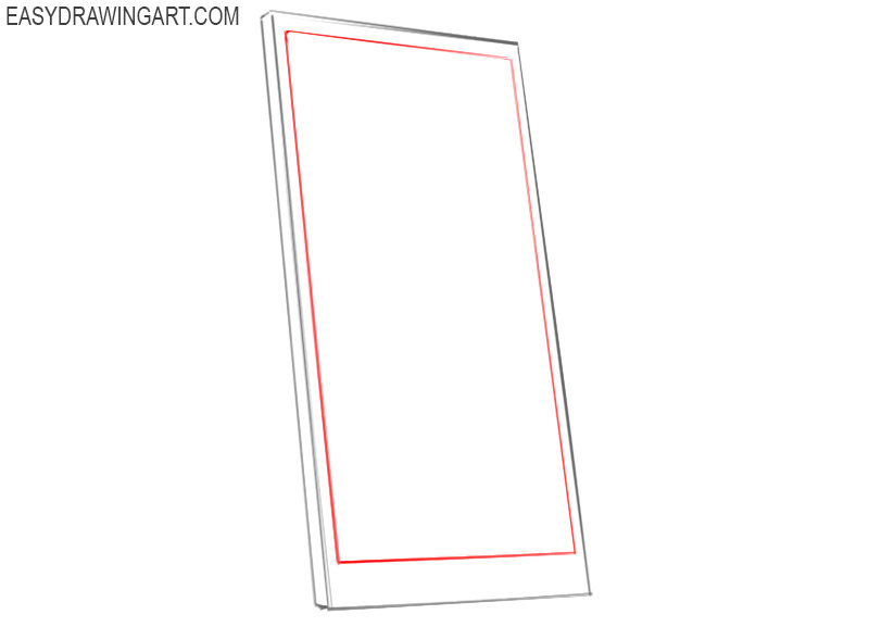 Easy way to draw a phone