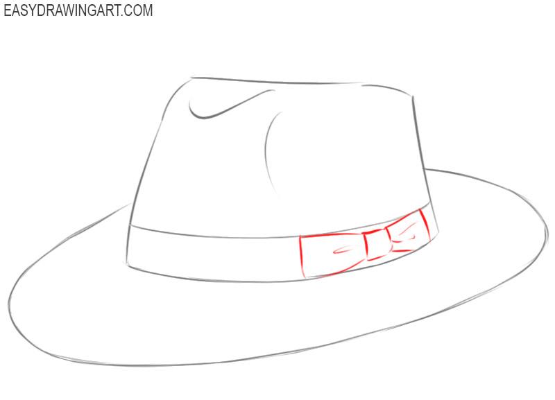 hat drawing tutorial