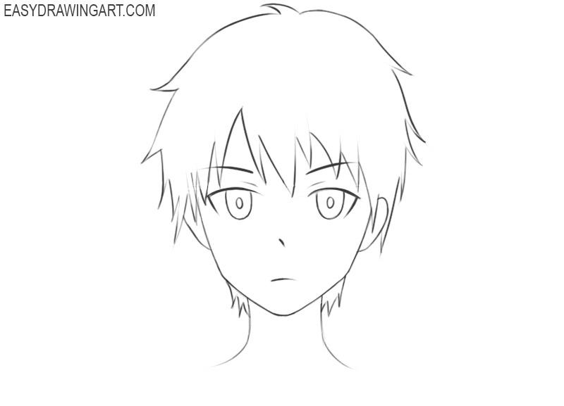 how 2 draw anime heads
