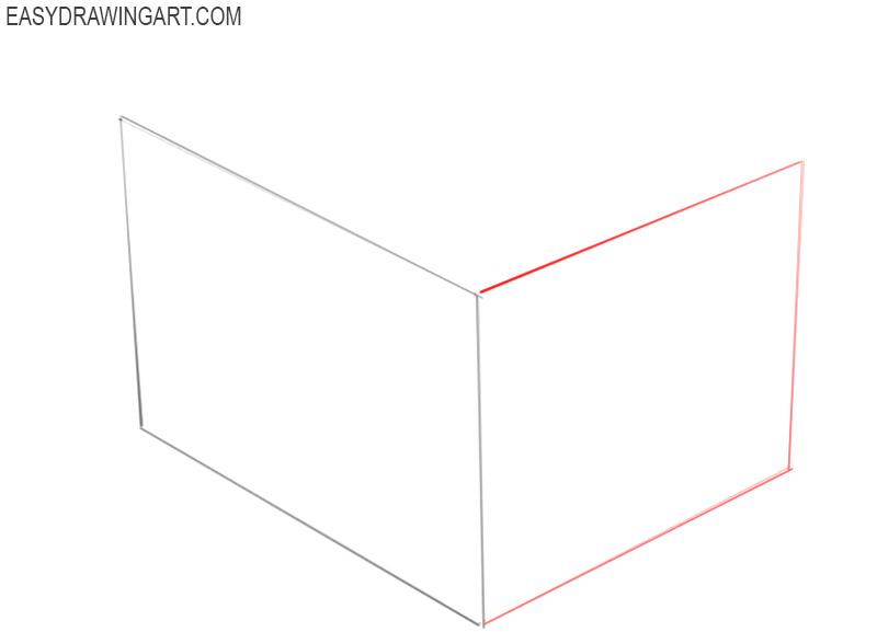 how 2 draw box