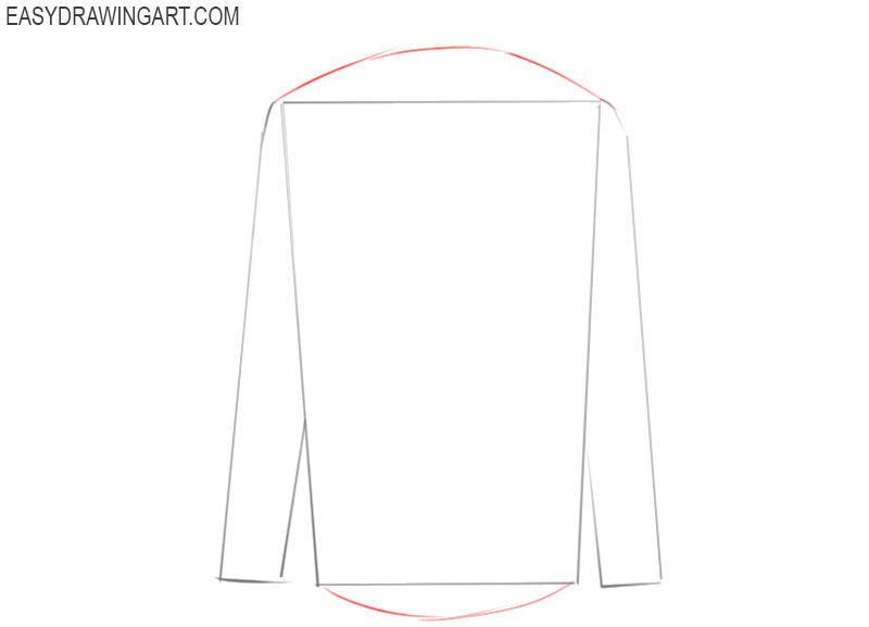 how to draw a basic shirt