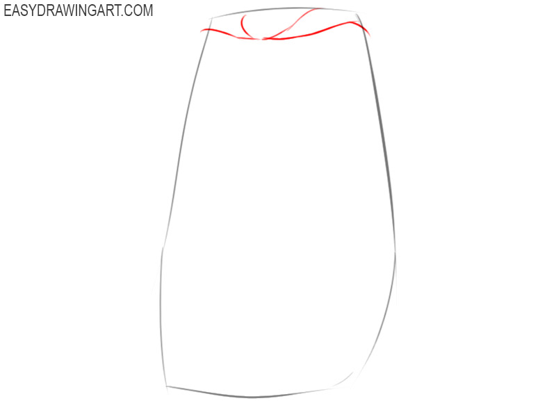 how to draw a cape easy