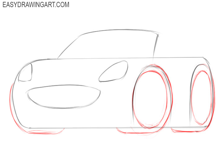 How easy to draw a car