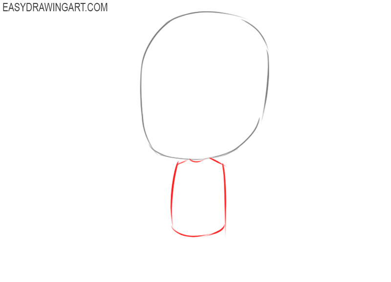 how to draw a chibi anime character