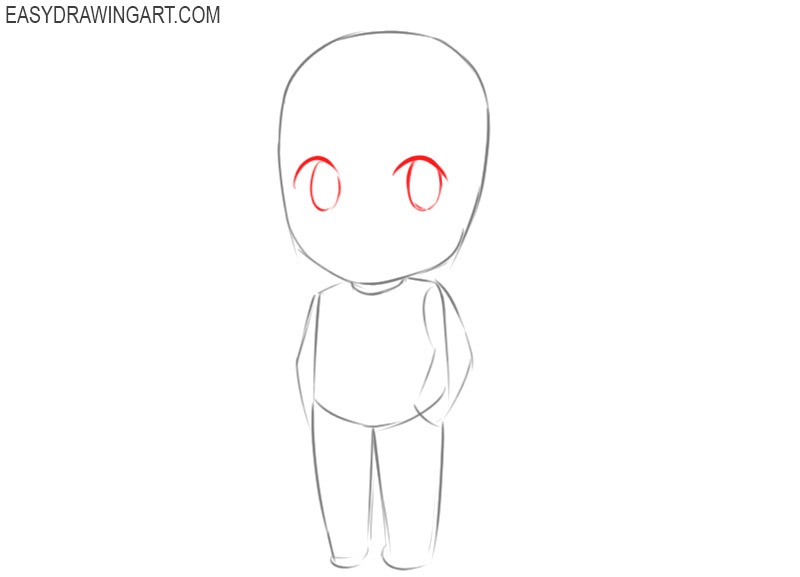 how to draw a chibi for beginners step by step