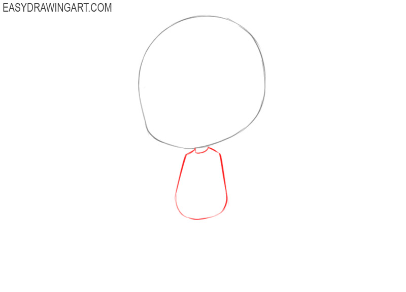 how to draw a chibi girl easy step by step