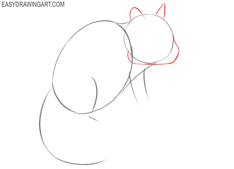 how to draw a chipmunk cartoon