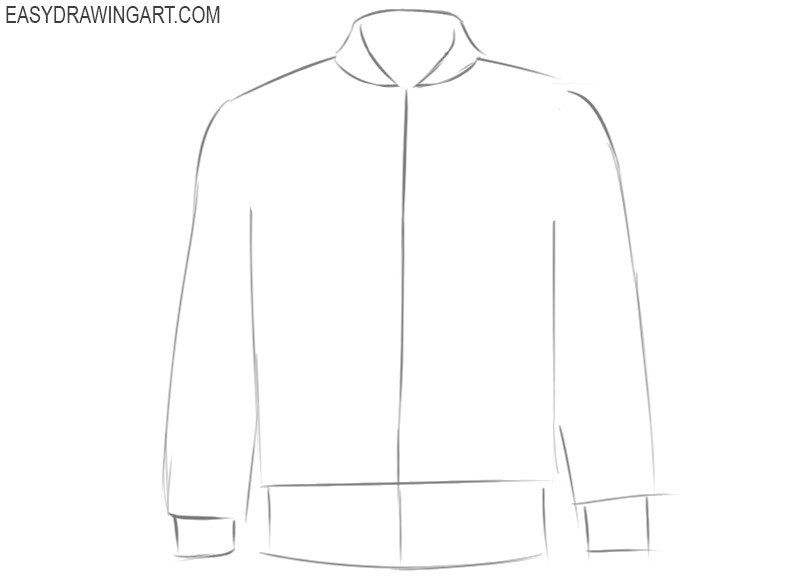 how to draw a cool jacket