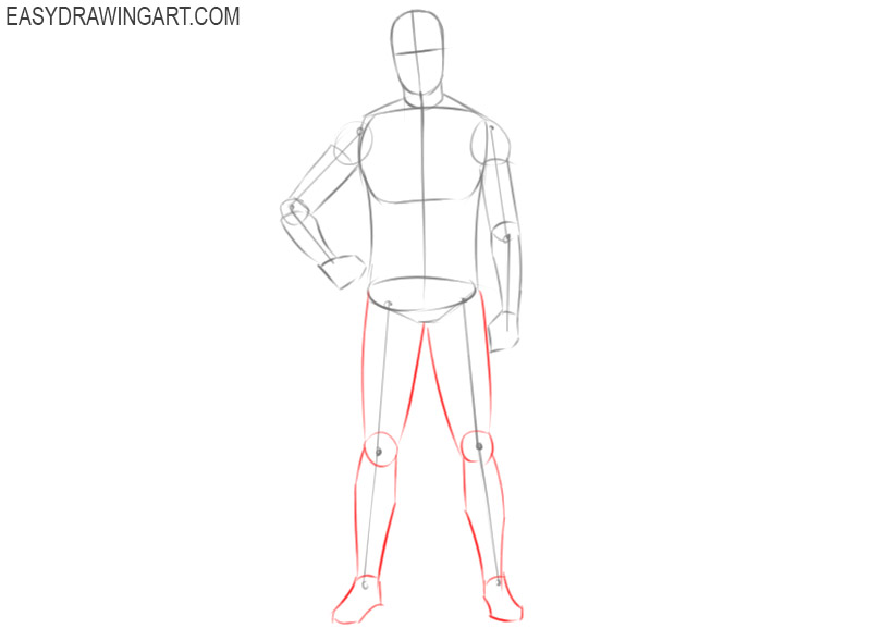 how to draw a football player cartoon