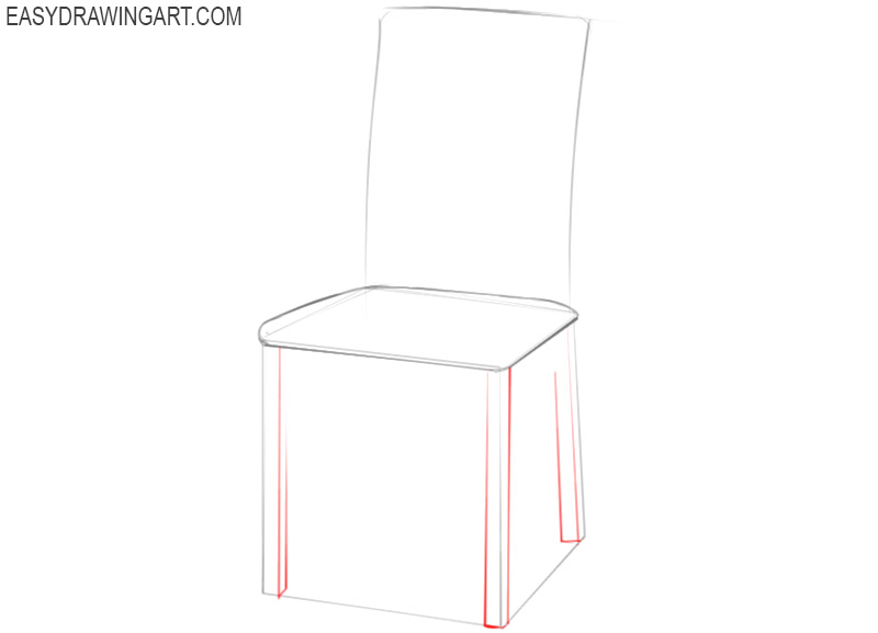 how to draw a good chair