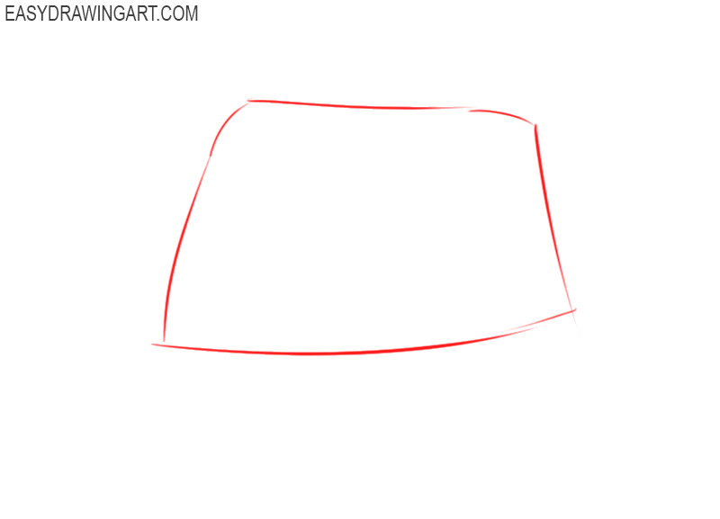 how to draw a hat easy