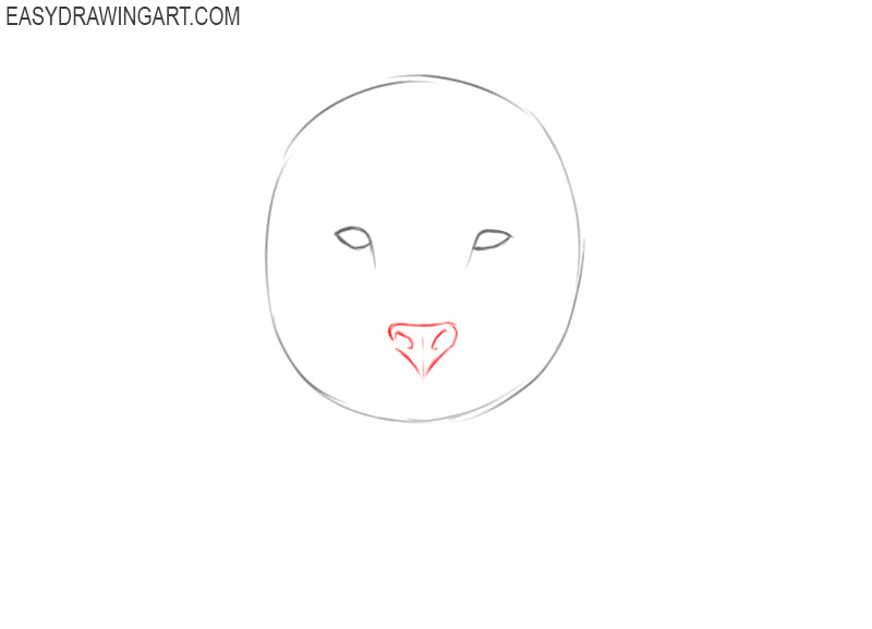 how to draw a lion head step by step easy