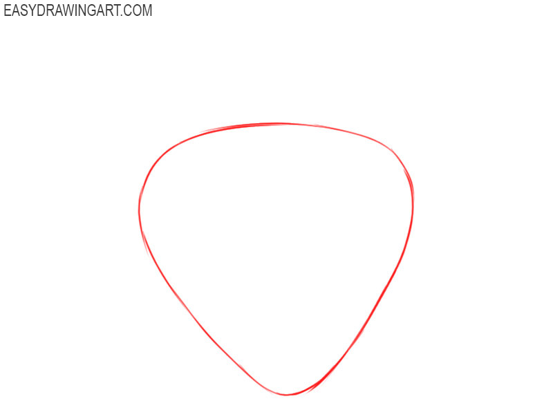 how to draw a strawberry step by step