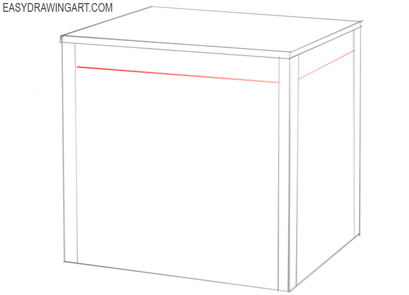 how to draw a table easy step by step