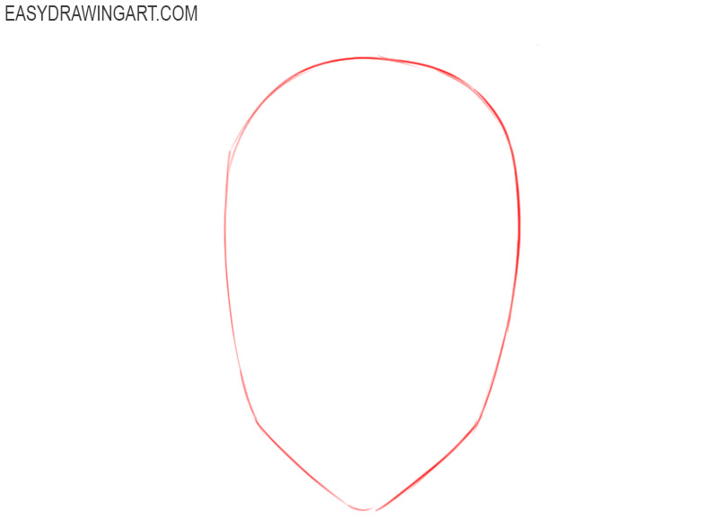 how to draw an anime hair step by step