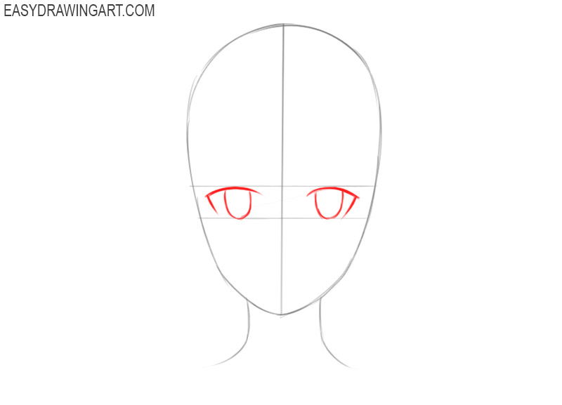how to draw an anime head male