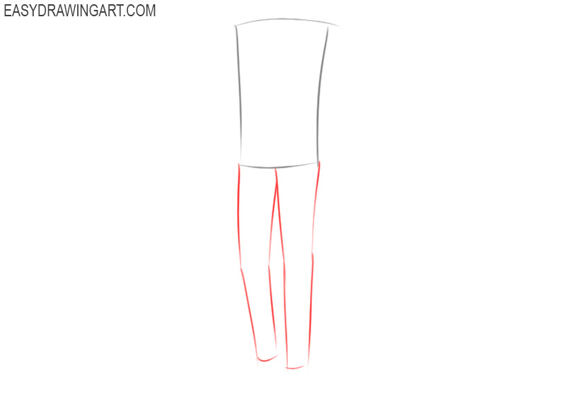 how to draw anime clothes male