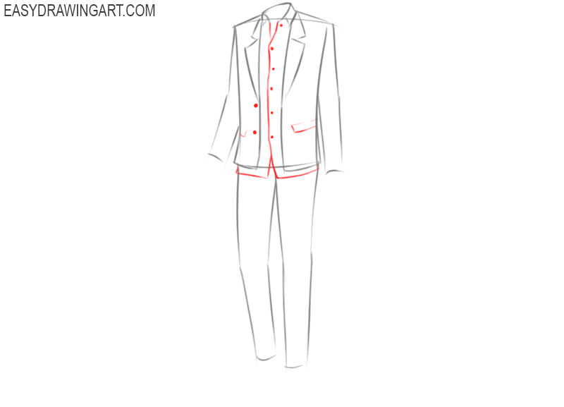how to draw anime guy clothes designs
