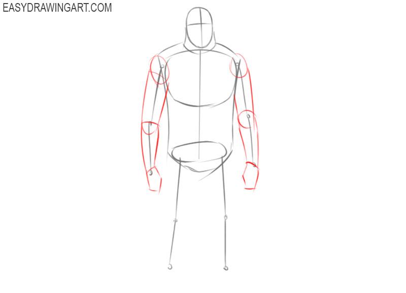 how to draw bigfoot cartoon