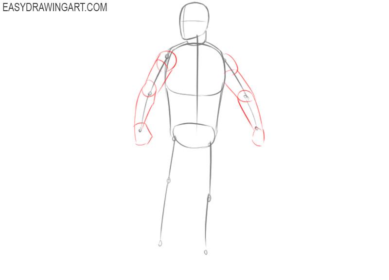 how to draw captain america chris evans