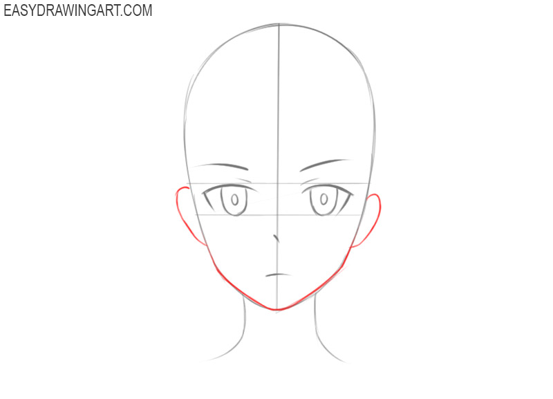 how to draw cute anime faces