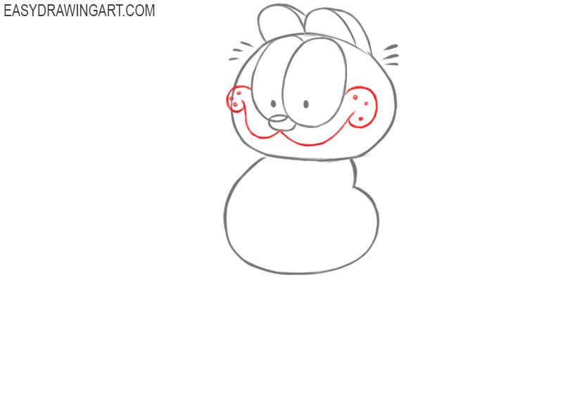 how to draw garfield comics