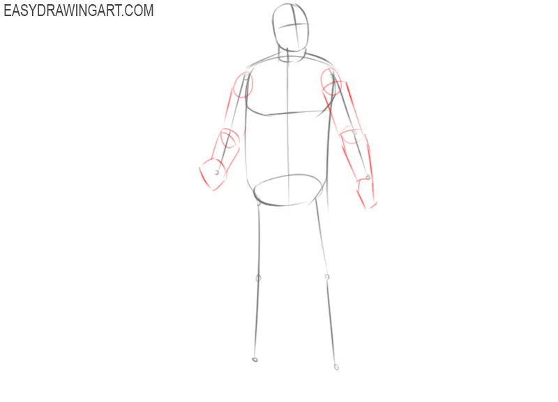 how to draw jason voorhees full body step by step