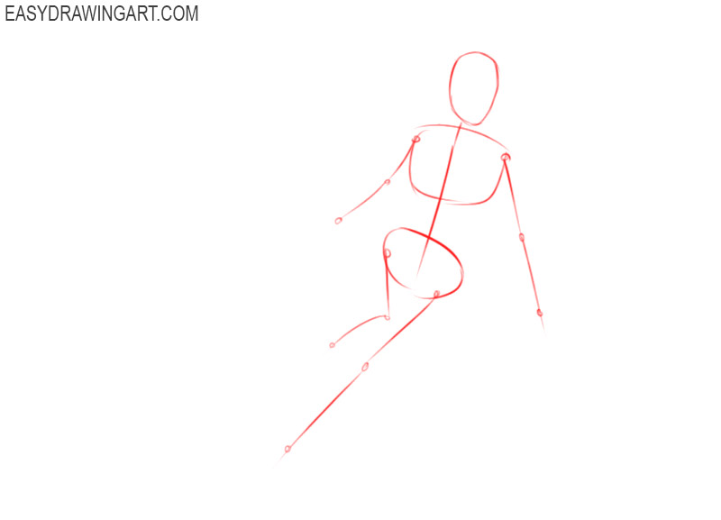 how to draw supergirl step by step
