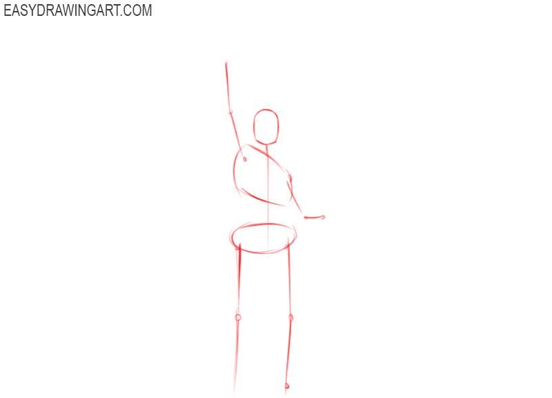 how to draw the statue of liberty easy