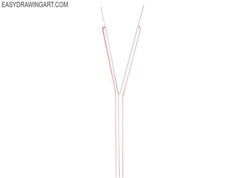 how to draw zipper tutorial