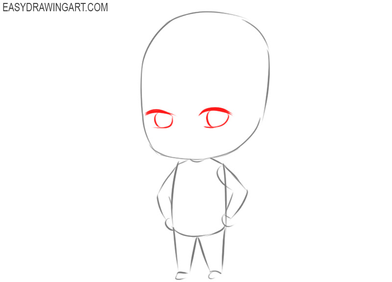 how to make a male chibi character