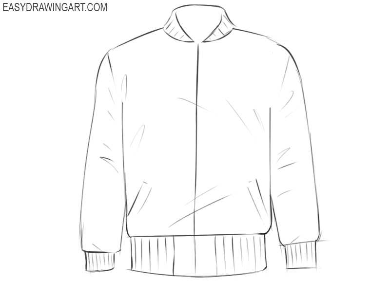 jacket drawing easy