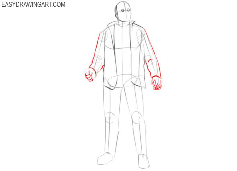 jason voorhees drawing tutorial