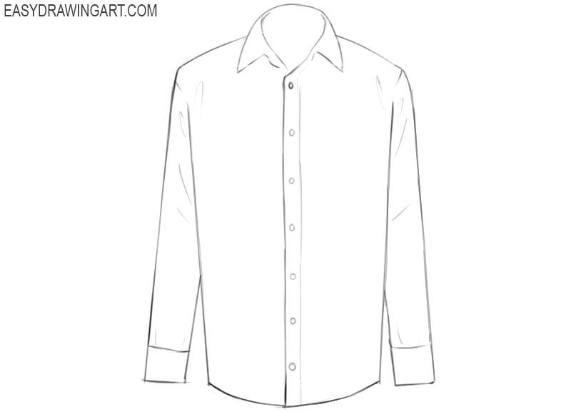 shirt drawing easy