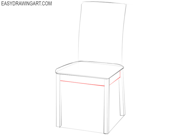 show me how to draw a chair
