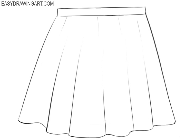 skirt drawing images