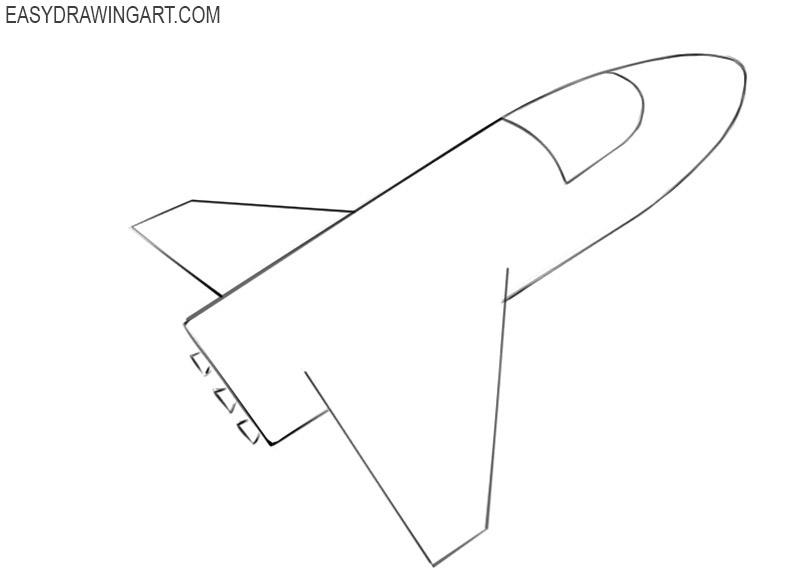 spaceship drawing tutorial