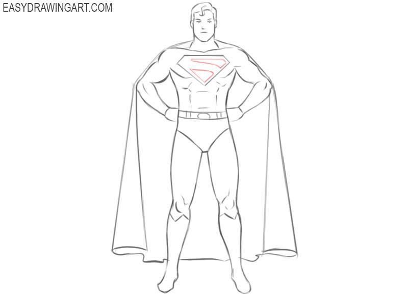 superhero drawings easy