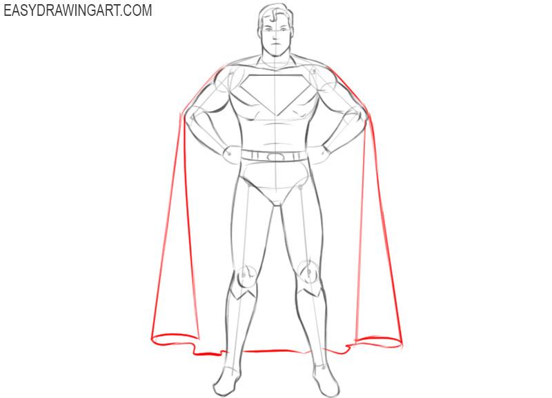 superhero drawings