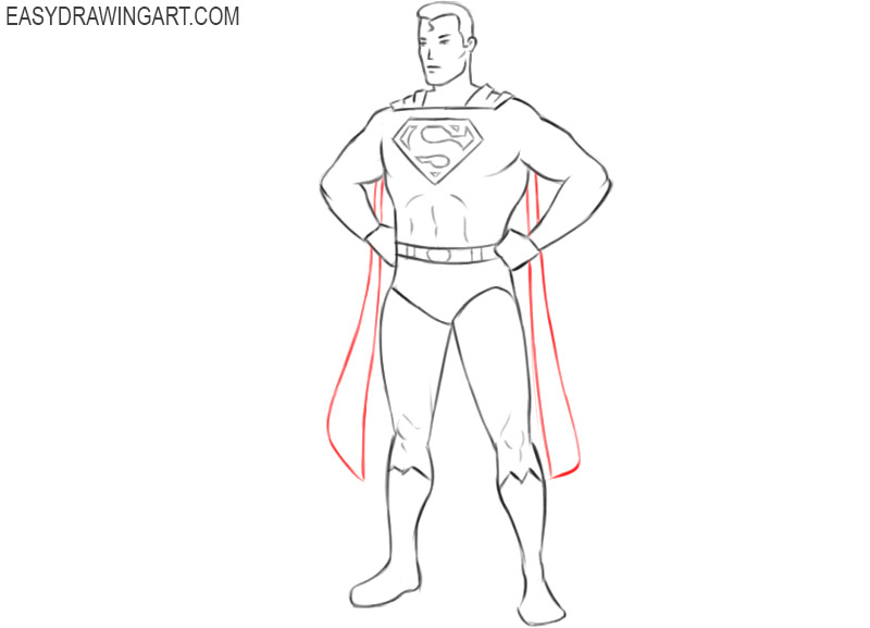 superman drawing images