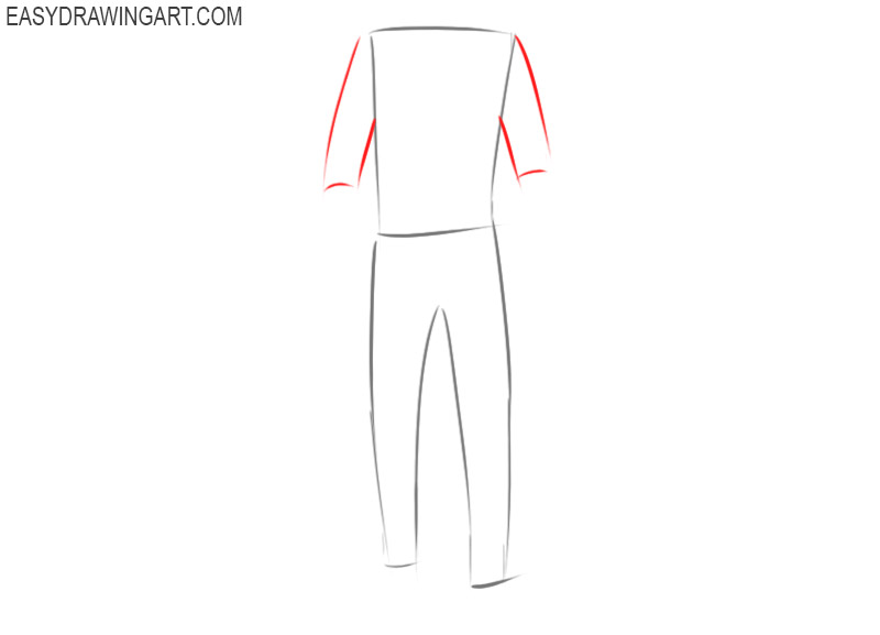 Clothes drawing guide
