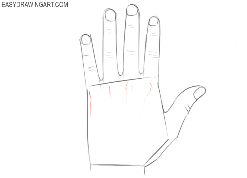 Easy to draw hands