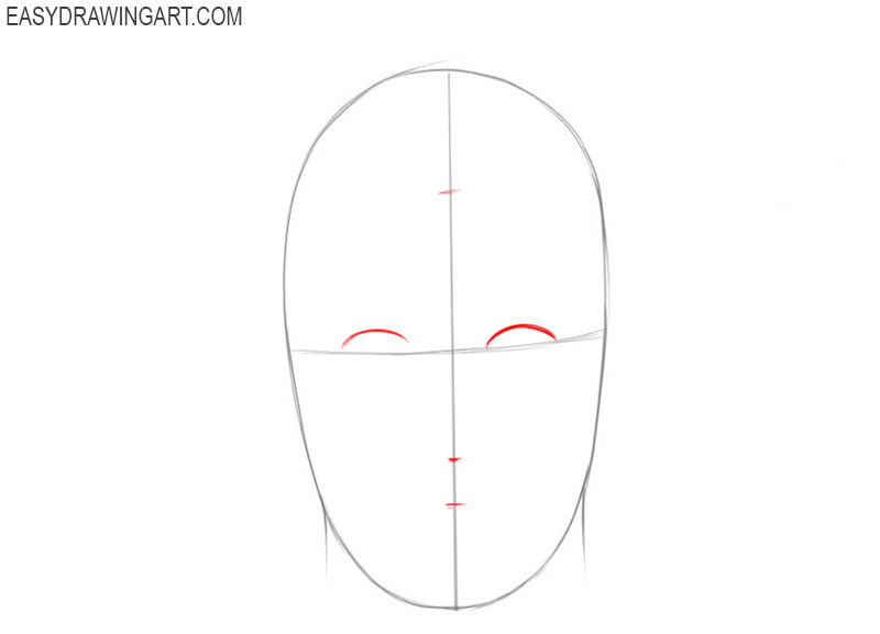 Face drawing guide